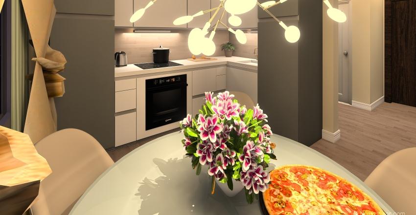 Sasha's apartments  Interior Design Render