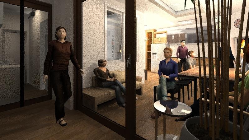 gourmet Interior Design Render