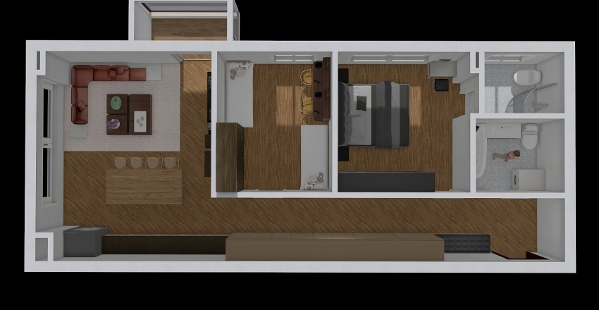 Комфортний дім/2 Interior Design Render