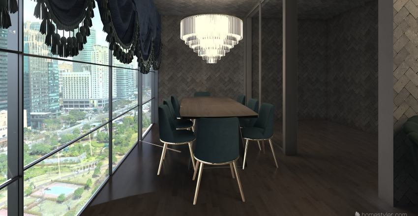 njn Interior Design Render