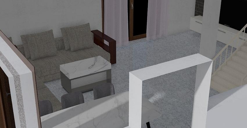 Mechnice domek Interior Design Render