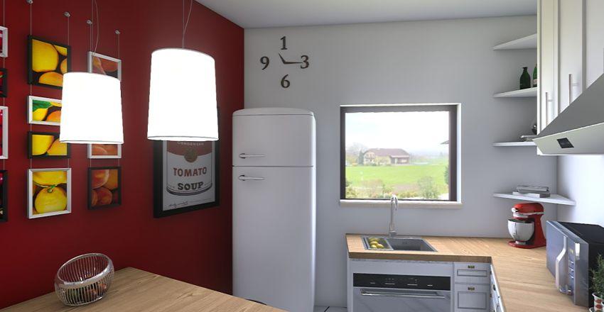 Cuisine Interior Design Render