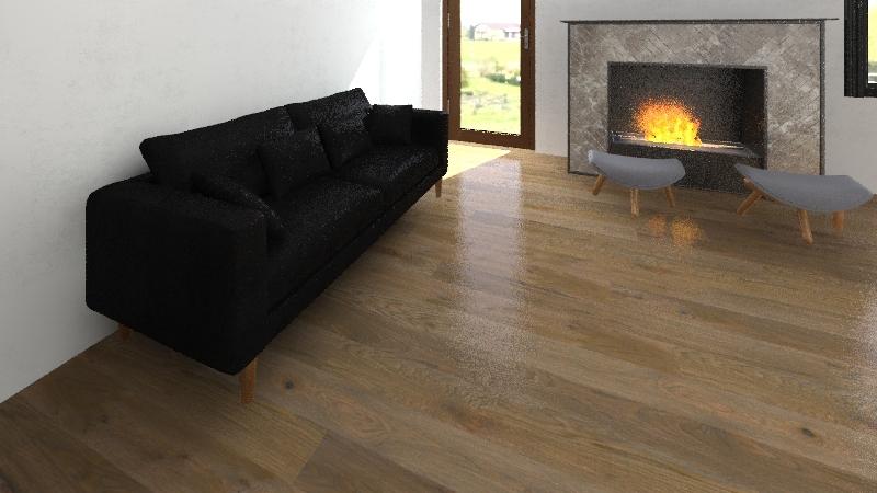 casa roccaraso Interior Design Render