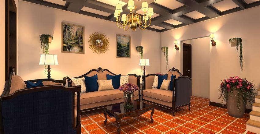 SALA DE ESPERA Interior Design Render