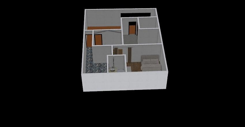 Koria East Facing Interior Design Render