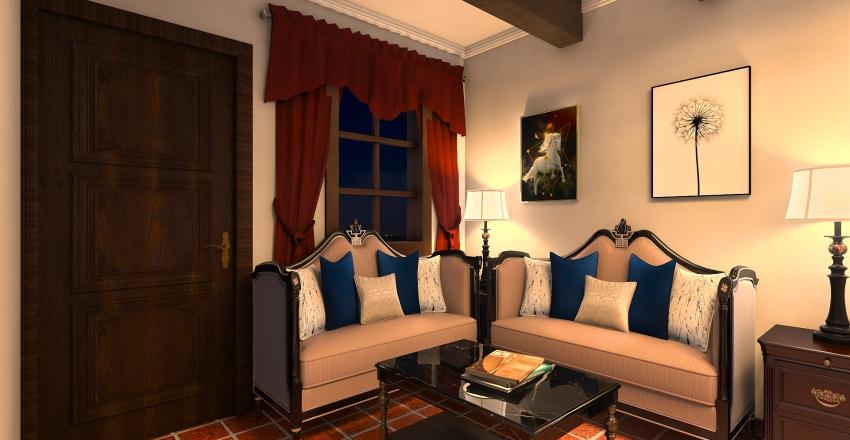 DORMITORIO HOTEL Interior Design Render