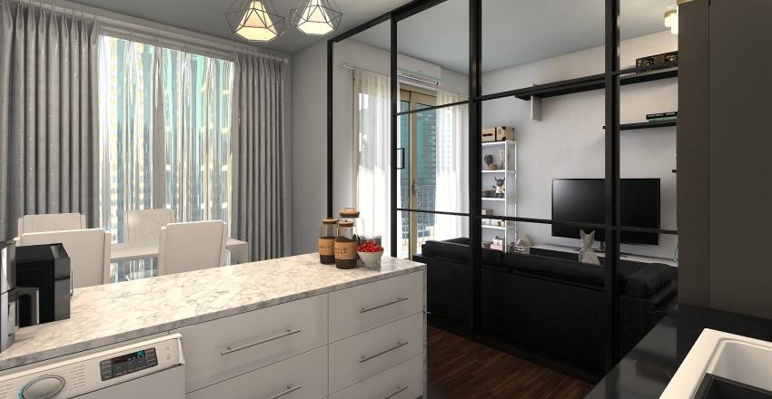 condo RR Interior Design Render