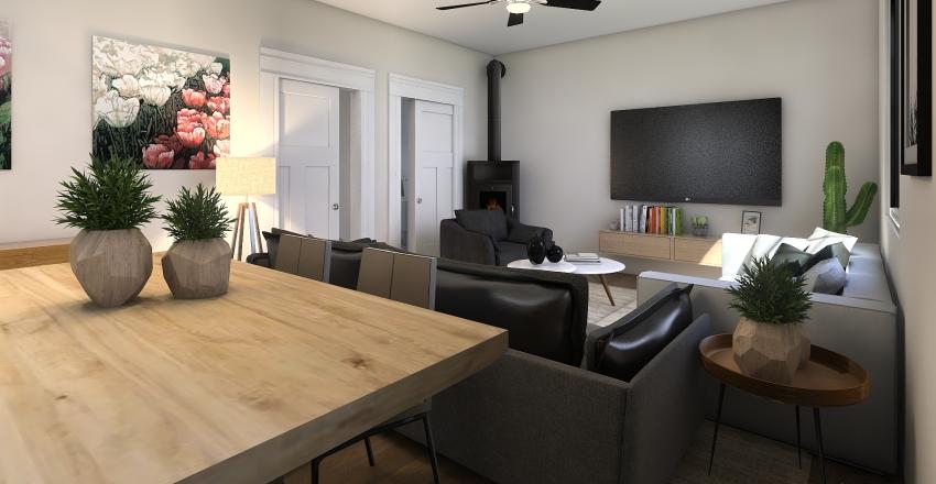 Casa de Yanka Interior Design Render