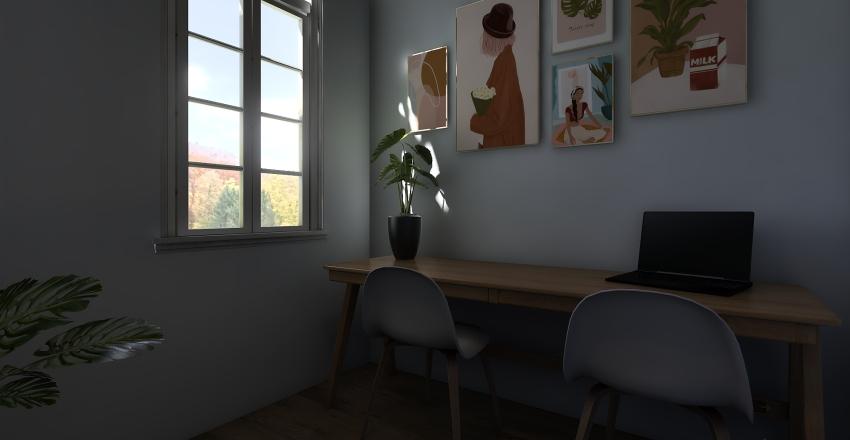 Villa House Interior Design Render