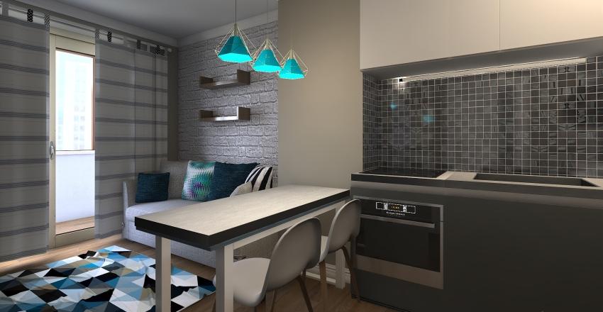 балтийская 99 вариант1 Interior Design Render