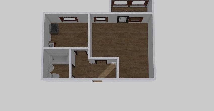 1-комн_0375 Interior Design Render