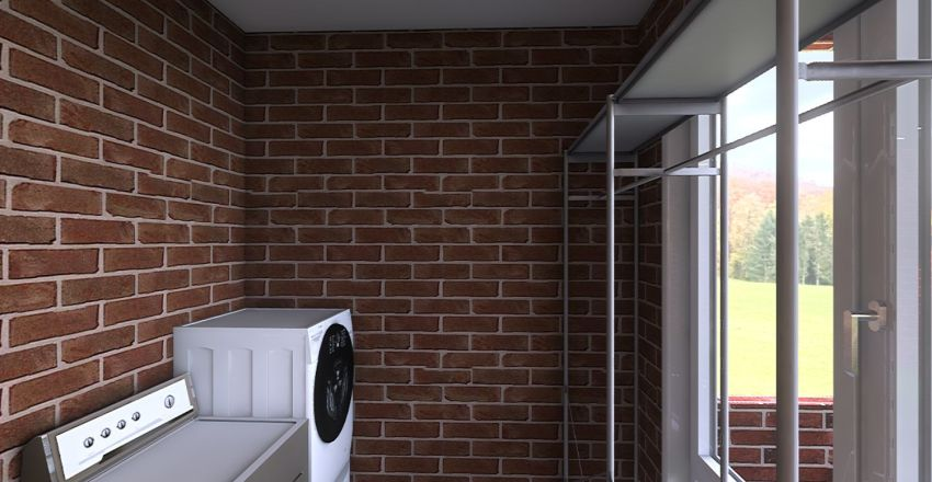 moon home Interior Design Render