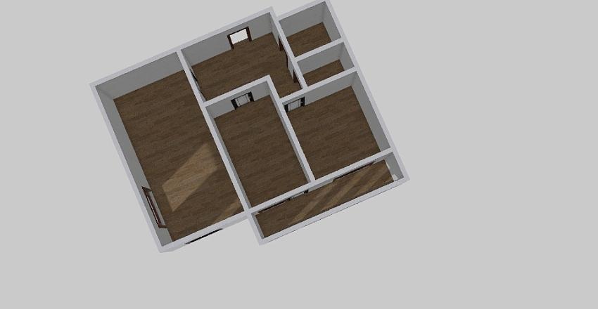2-комн_0347 Interior Design Render