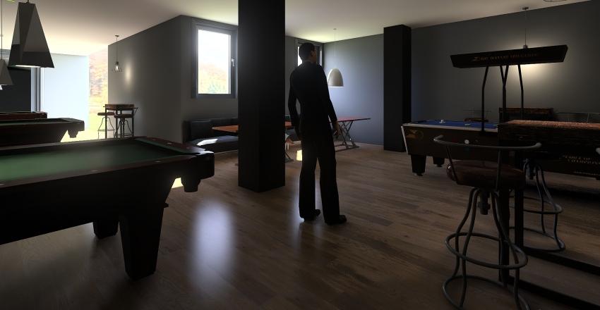 Sportsko-Zabavni Centar Mačak radna verzija za Juru Interior Design Render