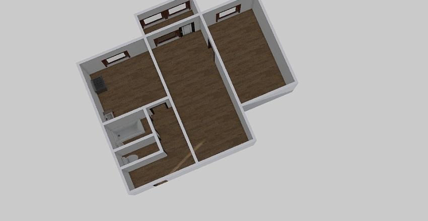 2-комн_001_20 Interior Design Render