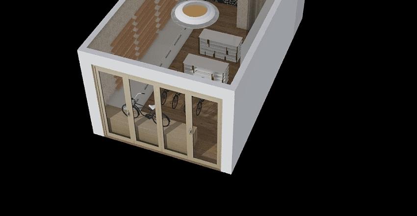 Carcará loja Interior Design Render