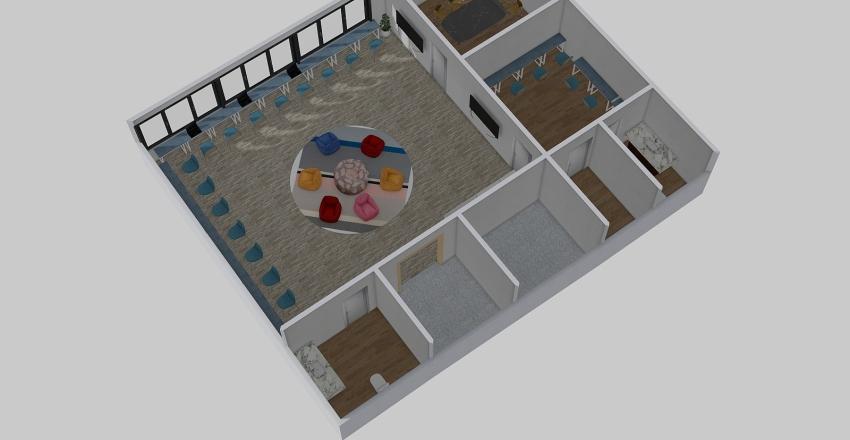 Yuey Kong Centre Interior Design Render