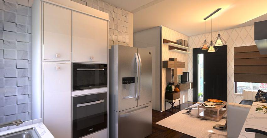 Simmer 40m2 Interior Design Render