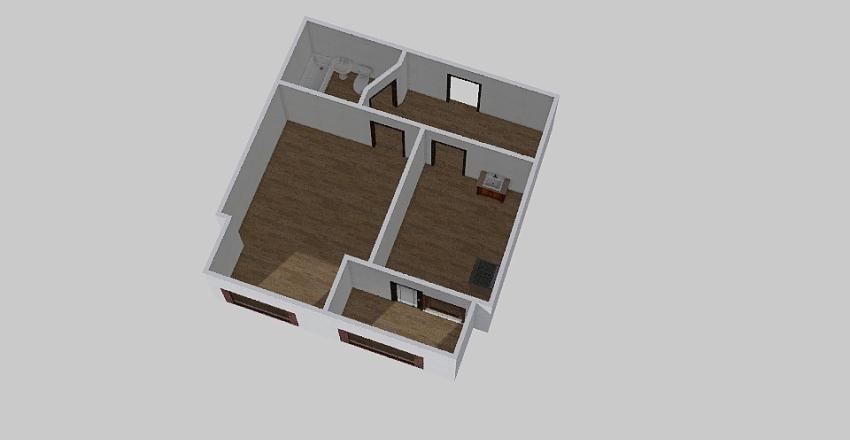 1-комн_0377 Interior Design Render