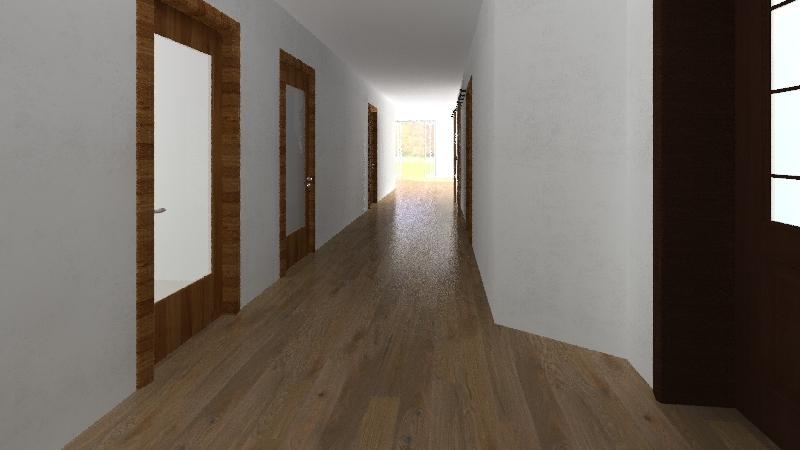 domek Interior Design Render