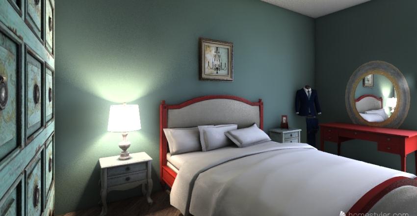 Batumi Aparthotel - 1 Bedroom Interior Design Render