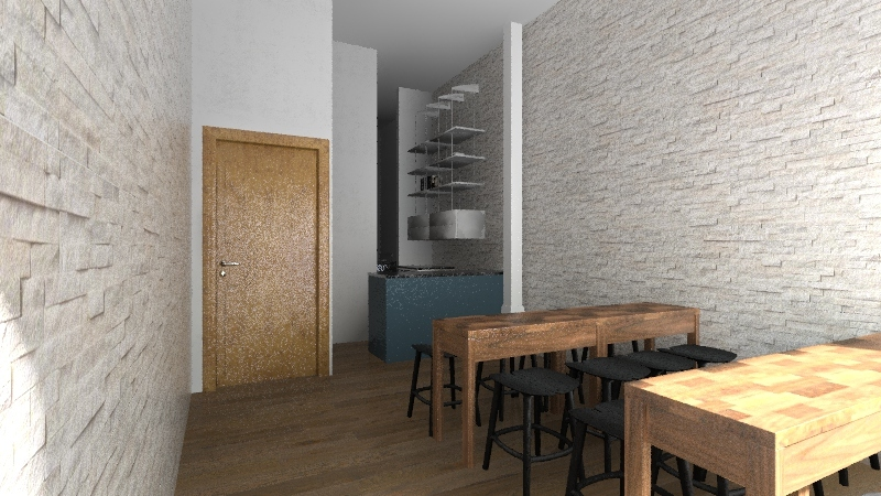 Unit v2 Interior Design Render