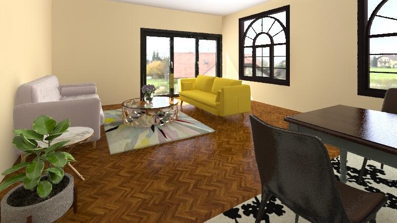 holi Interior Design Render