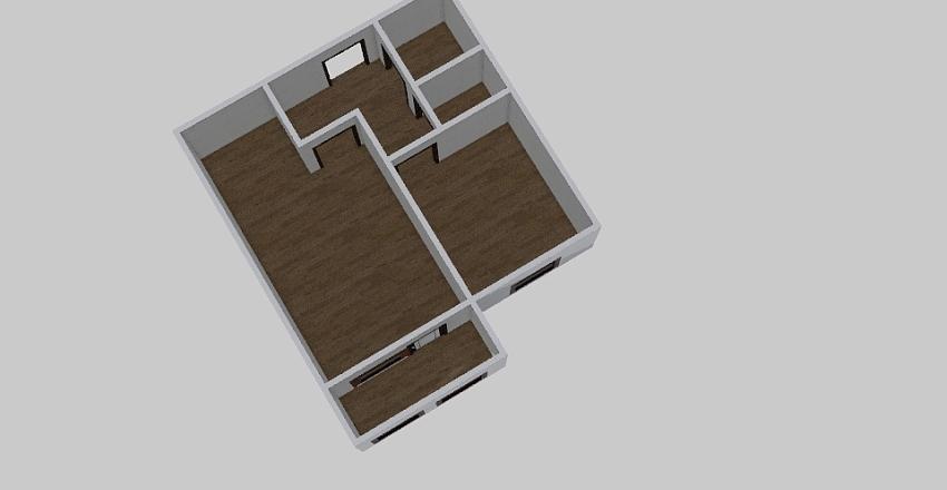 1-комн_0376 Interior Design Render