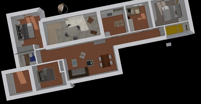 Pianta rosamarina 3 Interior Design Render