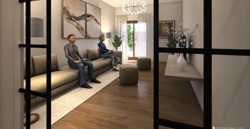 VIA MANZONI, SAN GIORGIO Interior Design Render