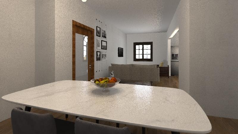 DDP house Interior Design Render