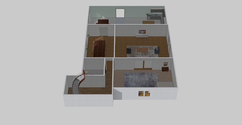 new and better house Interior Design Render