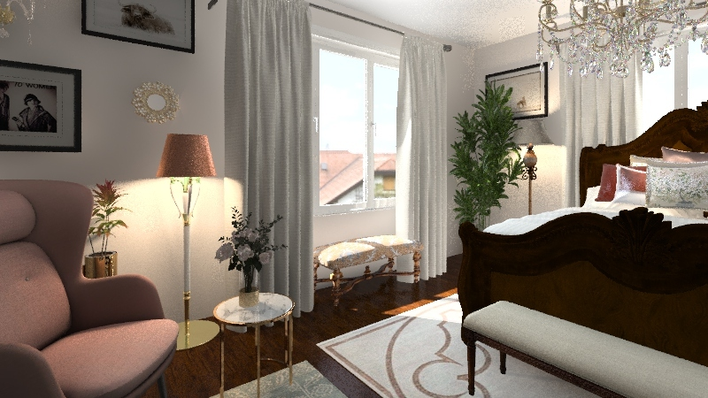 Princess room Interior Design Render