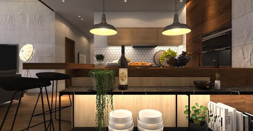 TOQUE INDUSTRIAL Interior Design Render