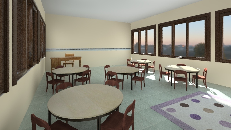 SALA PEPE Interior Design Render
