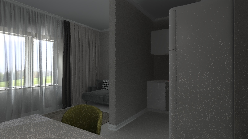 Аня Олег Соборный 98 мебель 4 Interior Design Render