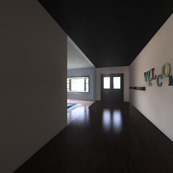 Asian Forrest style Interior Design Render
