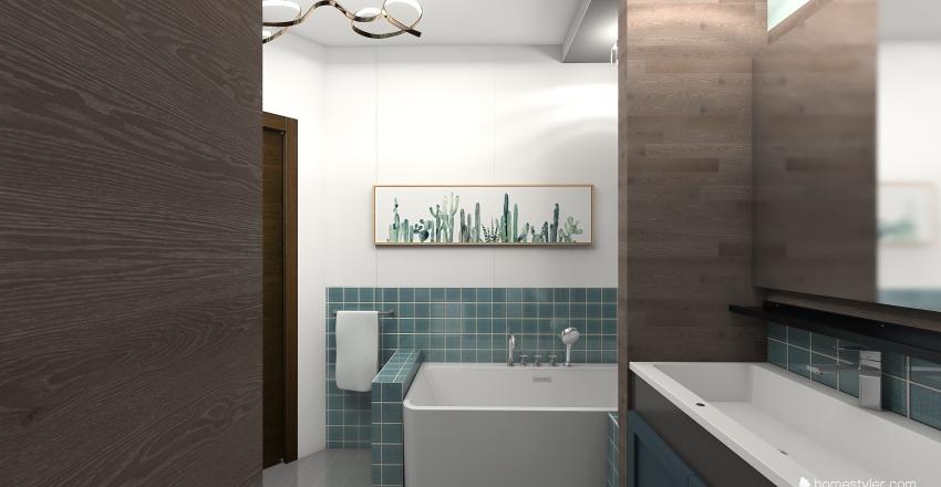 кварт трехкомнатная 2_копия 1 Interior Design Render