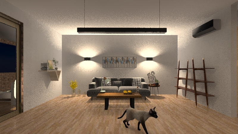 home project 1 Interior Design Render