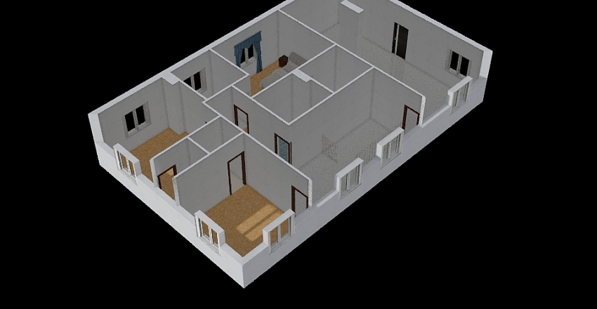 MOP 06 Piętro Interior Design Render