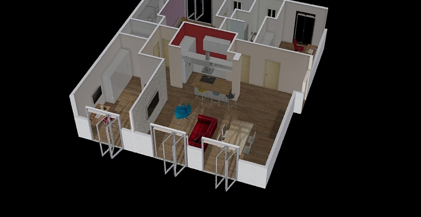 tedesco new Interior Design Render