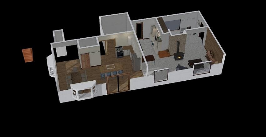 Home Layout Interior Design Render
