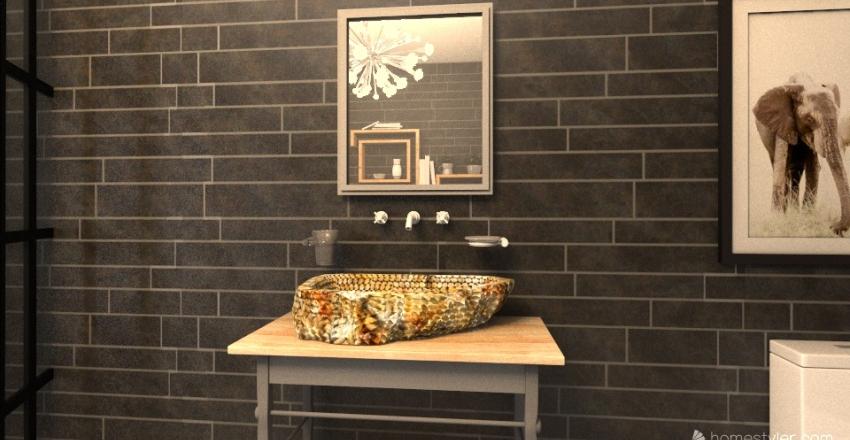 Small House Interior Design Render
