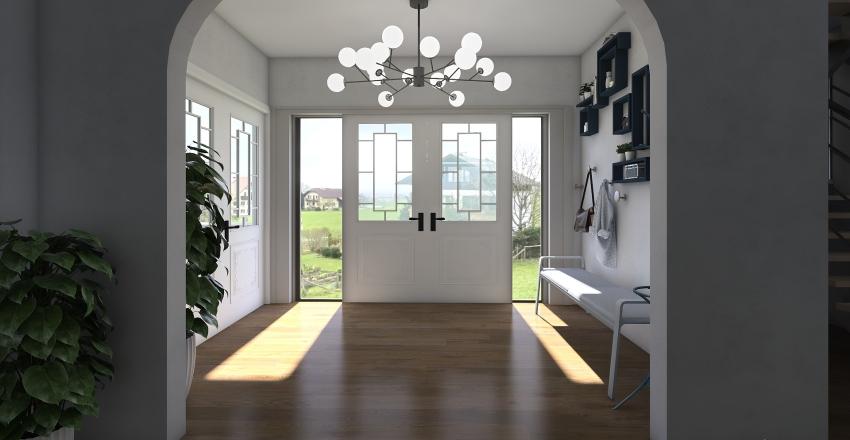 Townhouse Interior Design Render