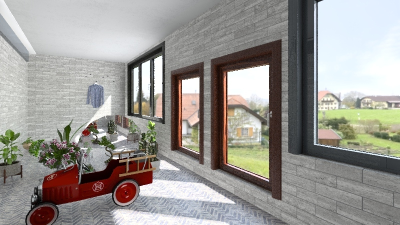 PISO PILOTO Interior Design Render