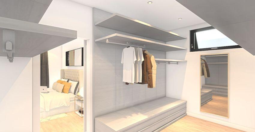 Morningside - White Interior Design Render