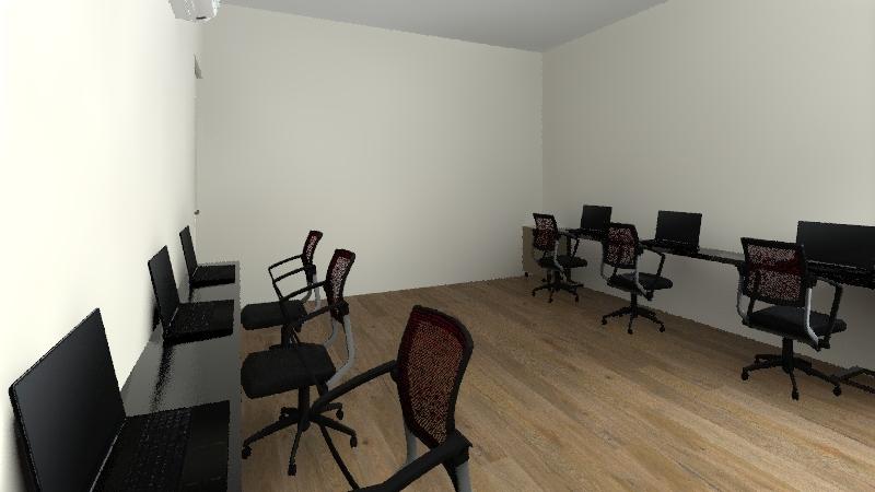 oficina ventas Interior Design Render