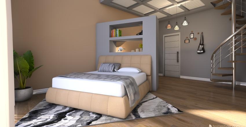 suite 5 stelle Interior Design Render