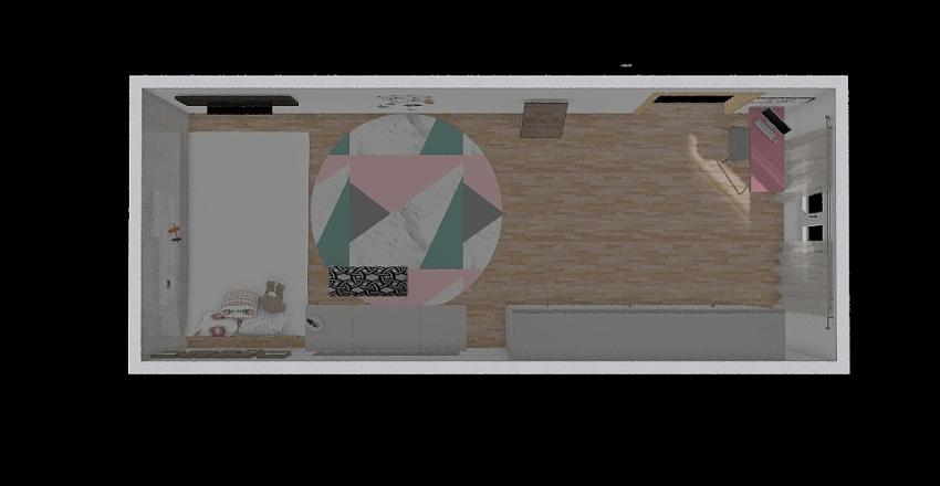 futuro quarto da lih Interior Design Render