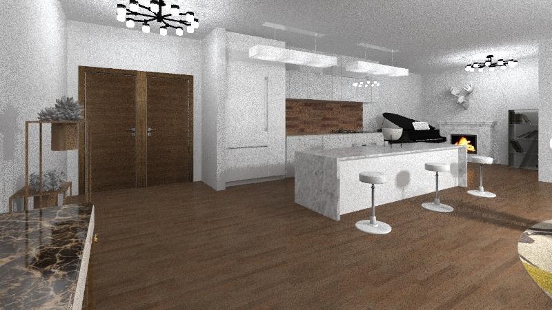 3 Bedroom Interior Design Render